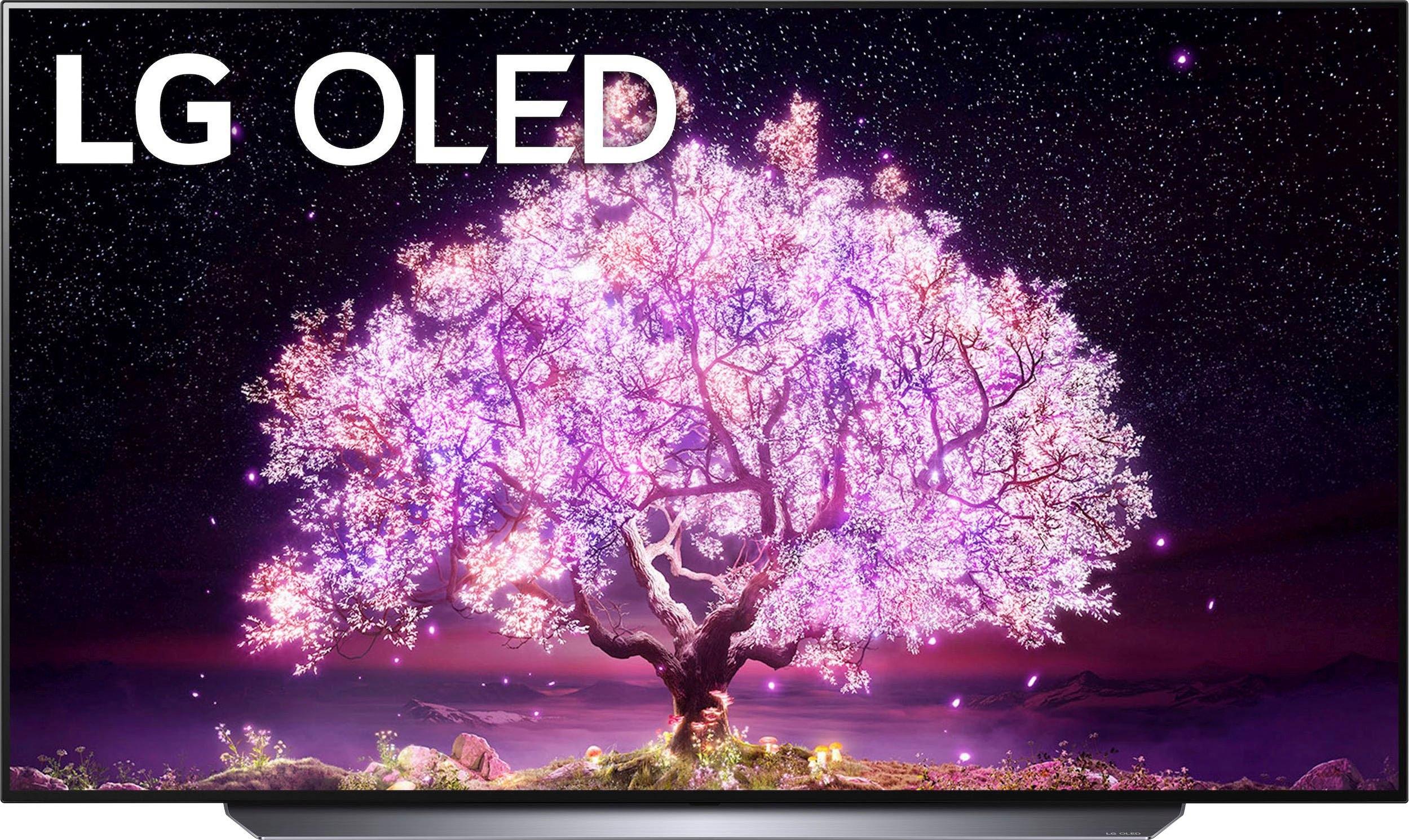 LG OLED-TV OLED77C17LB, 195 cm / 77