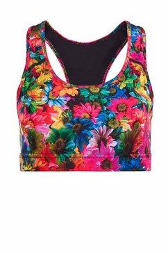 winshape sportbustier sb101-rainbow-flowers functional multicolor