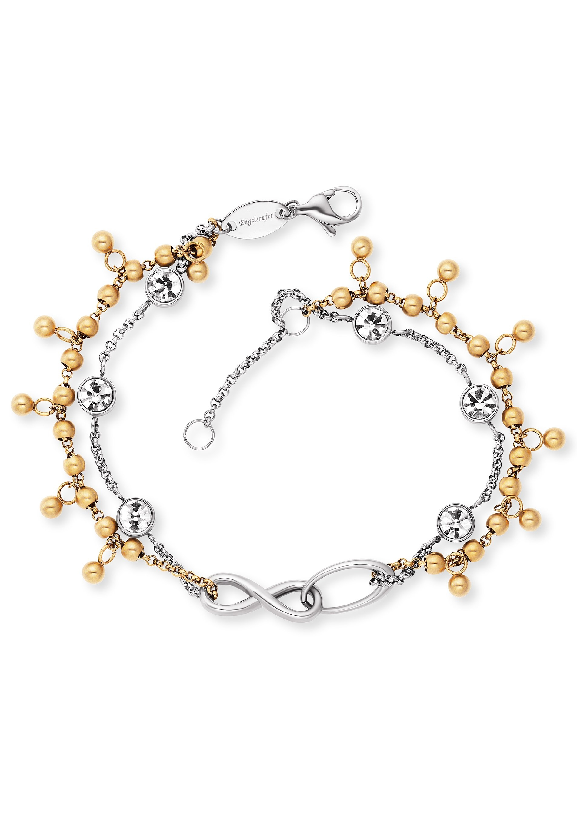 Engelsrufer Edelstalen armband BOHO Infinity, ERBS-INFINITY-ZI-bi met zirkoon online kopen op otto.nl