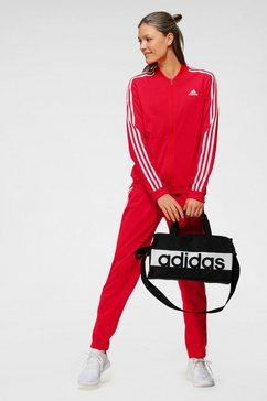 adidas performance trainingspak essentials tracksuit rood