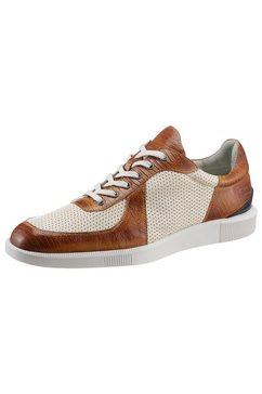 melvin  hamilton sneakers newton plantaardig gelooid met elegante finish bruin