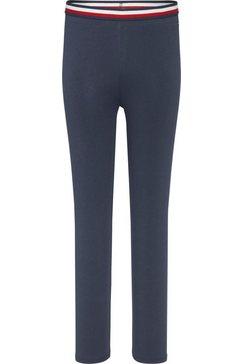 tommy hilfiger legging blauw