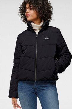 vans gewatteerde jas foundry v puffer zwart