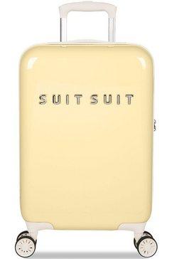 suitsuit hardshell-trolley fabulous fifties, 55 cm geel