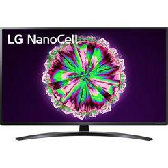 lg »55nano796ne« led-tv zwart