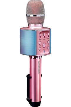 lenco microfoon bmc-090 roze