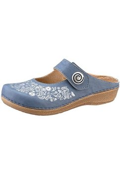 franken-schuhe clogs blauw