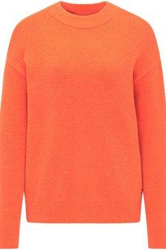 mustang gebreide trui »carla c soft« rood