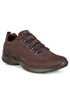ecco sneakers biom met perforatie bruin