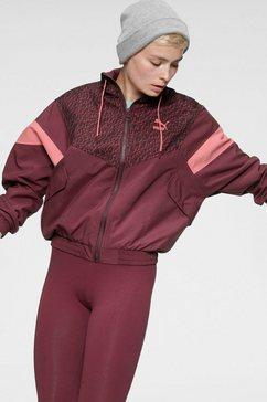 puma trainingsjack »tfs winterized track jacket« rood