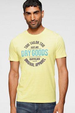 tom tailor t-shirt geel