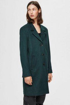 selected femme korte jas »slfsasja« groen