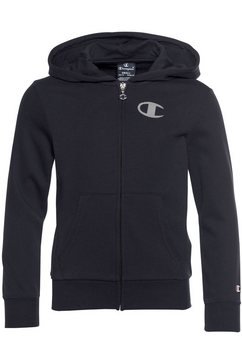 champion capuchonsweatvest hooded full zip sweatshirt blauw