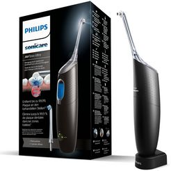 philips sonicare airfloss ultra hx8438 voor reiniging van de ruimte tussen de tanden zwart