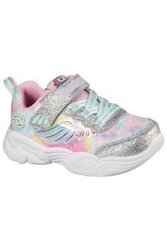 skechers kids sneakers in fonkelende look zilver