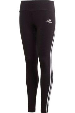 adidas performance legging »girls 3 stripes tight« zwart