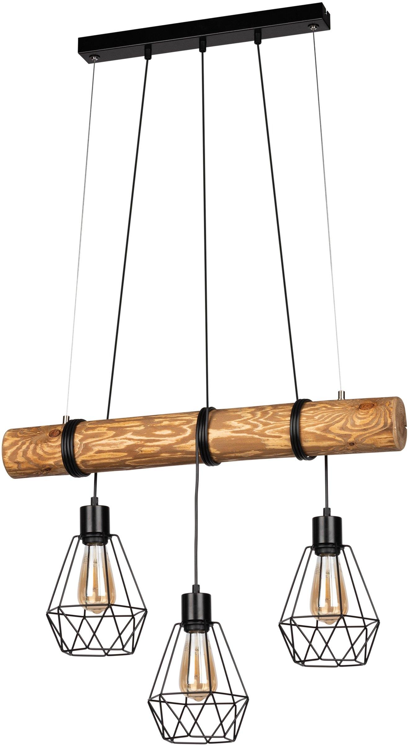 Home affaire Hanglampen Chestingdale van massief grenenhout, kap van metaal, bijpassende lm e27/exclusief, natuurproduct met fsc®-certificaat, made in europe veilig op otto.nl kopen
