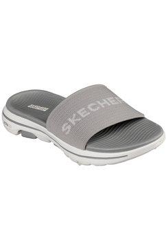 skechers slippers »go walk 5« grijs