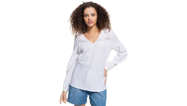 Roxy overhemd met lange mouwen