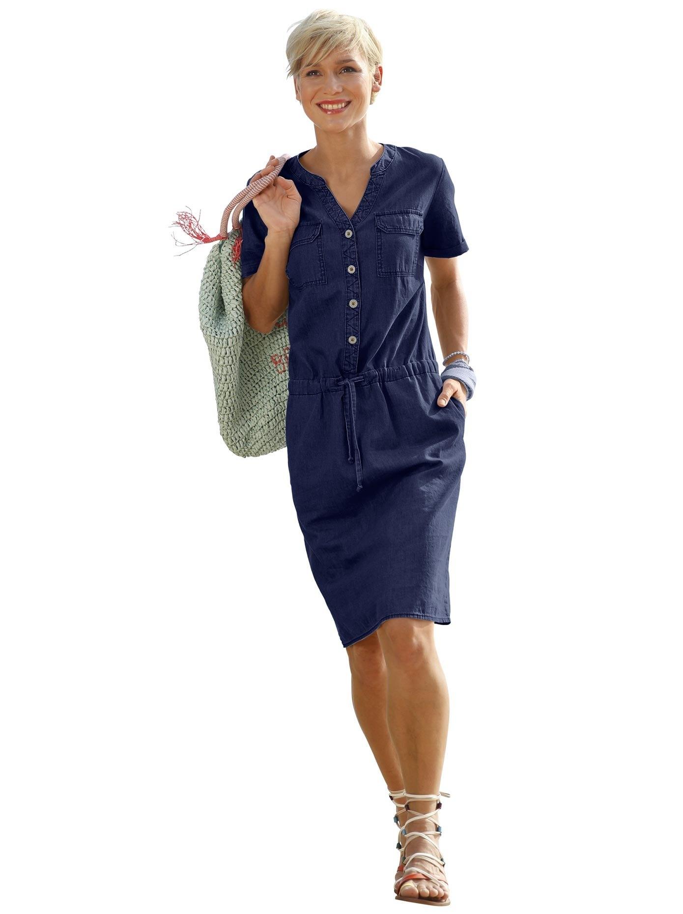 Casual Looks jurk met sportief dessin - gratis ruilen op otto.nl