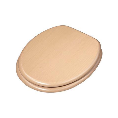 Badkameraccessoires Toiletzitting Ascoli 478608 bruin