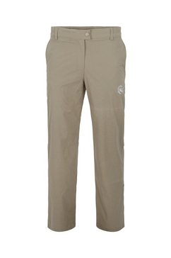 ahorn sportswear functionele broek met cool borduursel geel