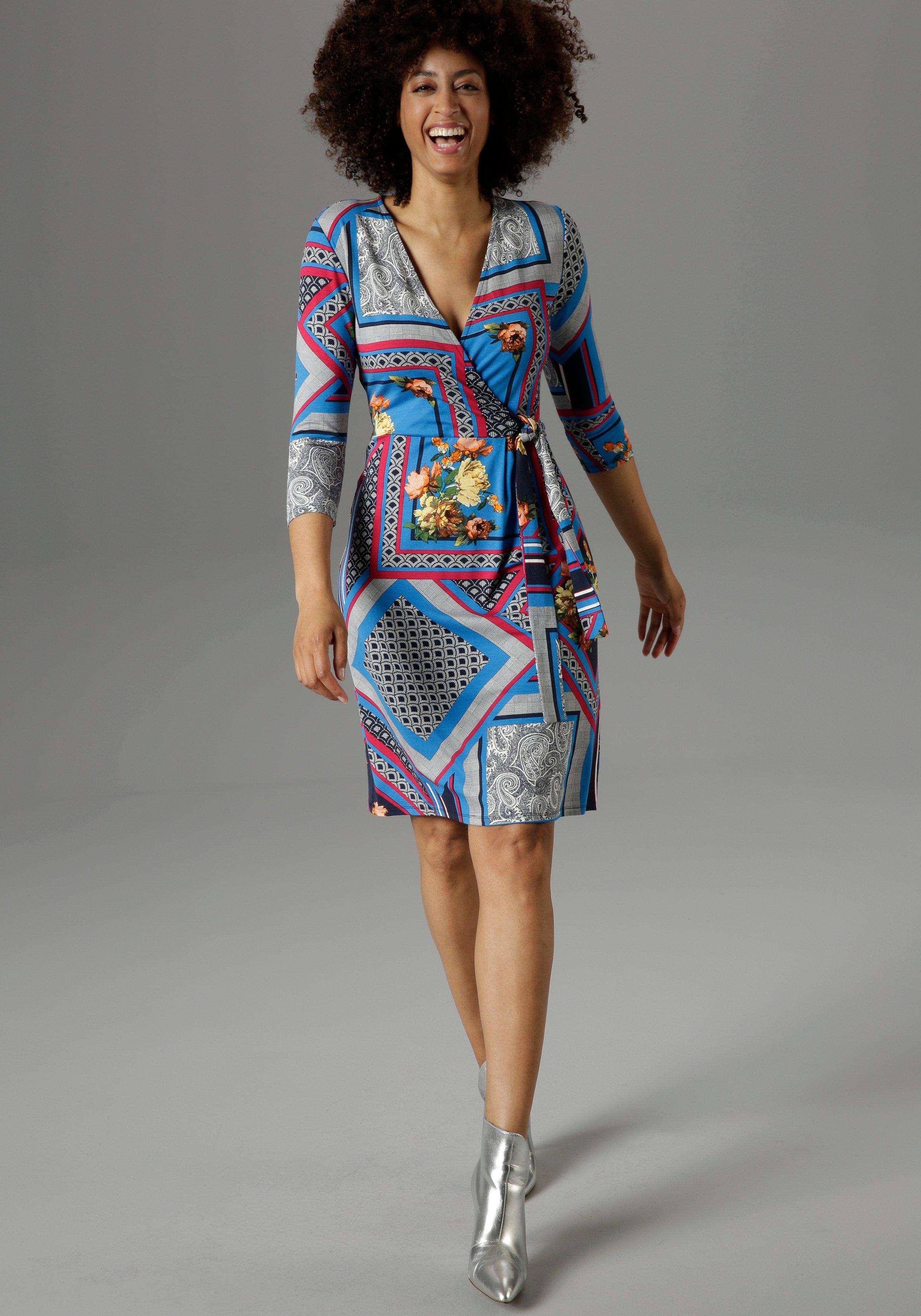 Aniston SELECTED jerseyjurk in patchprint - nieuwe collectie in de webshop van OTTO kopen
