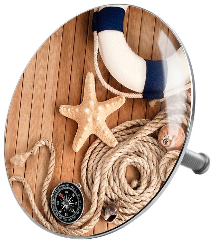 Sanilo Badkuipstop Maritime Ø 7,2 cm nu online kopen bij OTTO