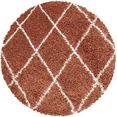 ayyildiz teppiche hoogpolig vloerkleed alvor 3401 oranje