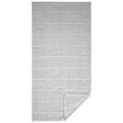 waeschepur handdoek grijs