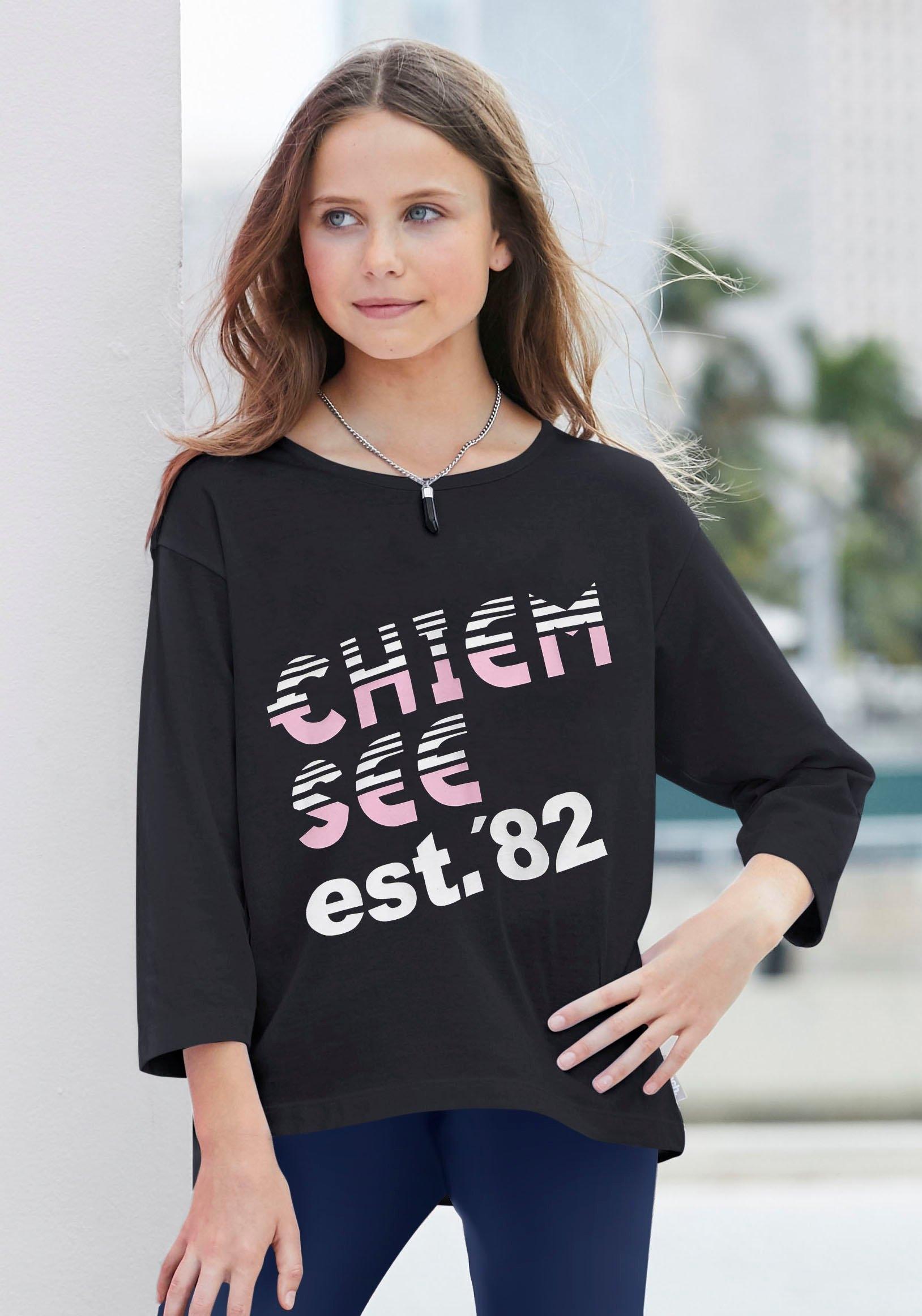 Chiemsee shirt met 3/4-mouwen nu online kopen bij OTTO