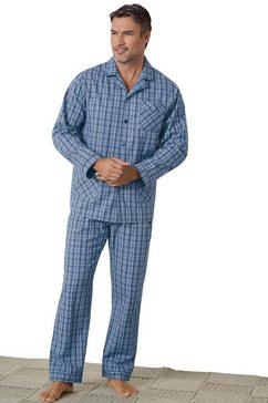 kings club pyjama blauw
