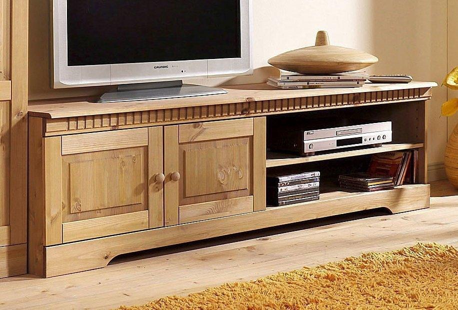 Home affaire tv-meubel Cubrix van mooi massief grenenhout, breedte 162 cm online kopen op otto.nl