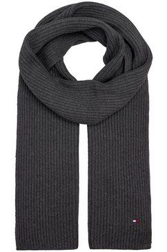 tommy hilfiger gebreide sjaal grijs