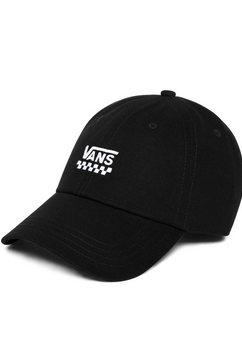 vans baseballcap »court side hat« zwart