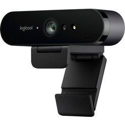 logitech »brio 4k stream edition« webcam zwart