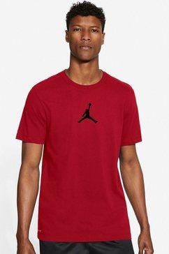 jordan t-shirt »men's short-sleeve crew« rood