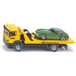 siku speelgoed-takelwagen siku super, adac inclusief speelgoedauto geel