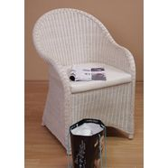 rotanfauteuil 'lukas' wit