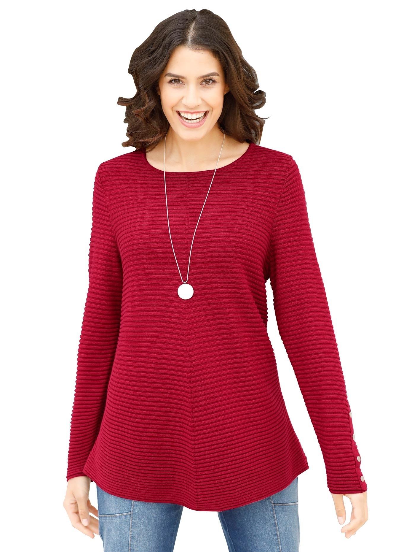 Classic Inspirationen trui met ronde hals Trui nu online kopen bij OTTO