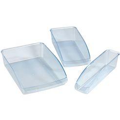 wenko opbergbox (set, 3 stuks) wit