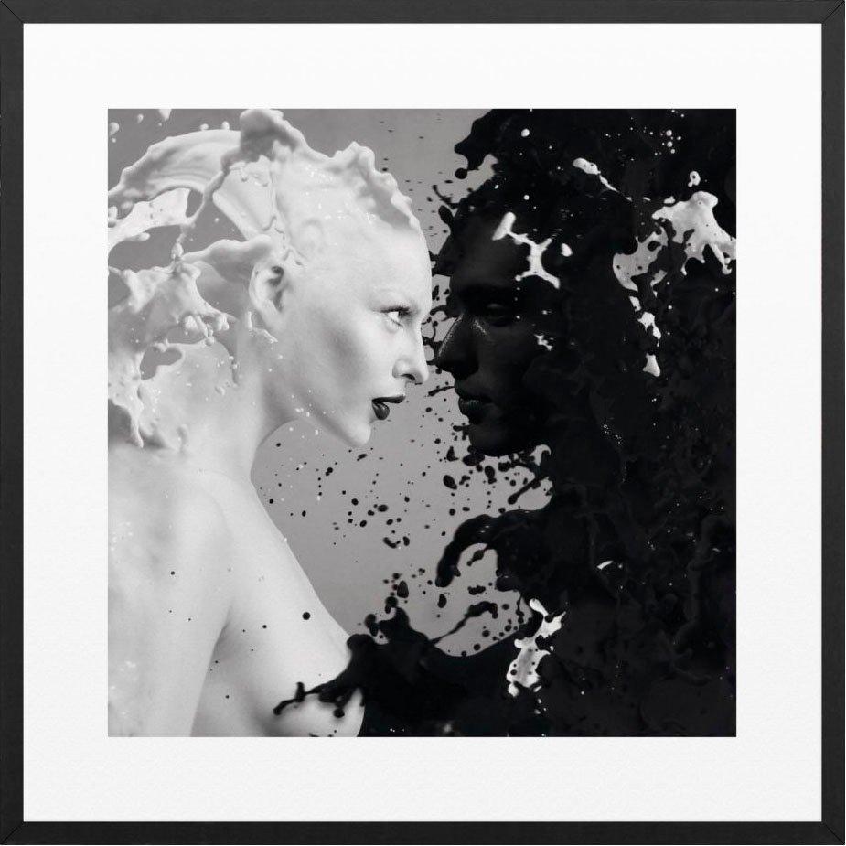 Reinders! artprint Zwart & wit twee vrouwen - ingelijste artprint nu online kopen bij OTTO