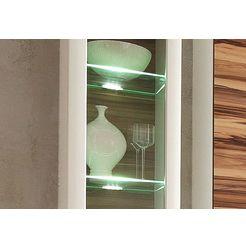 led-verlichting voor glasplateau wit