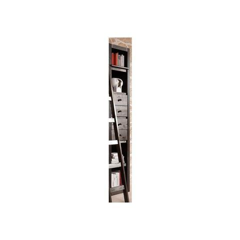 Kasten  vitrinekasten Boekenkast aanbouwelement breedte 455 cm Er zitten geen lades in deze boekenkast 607402