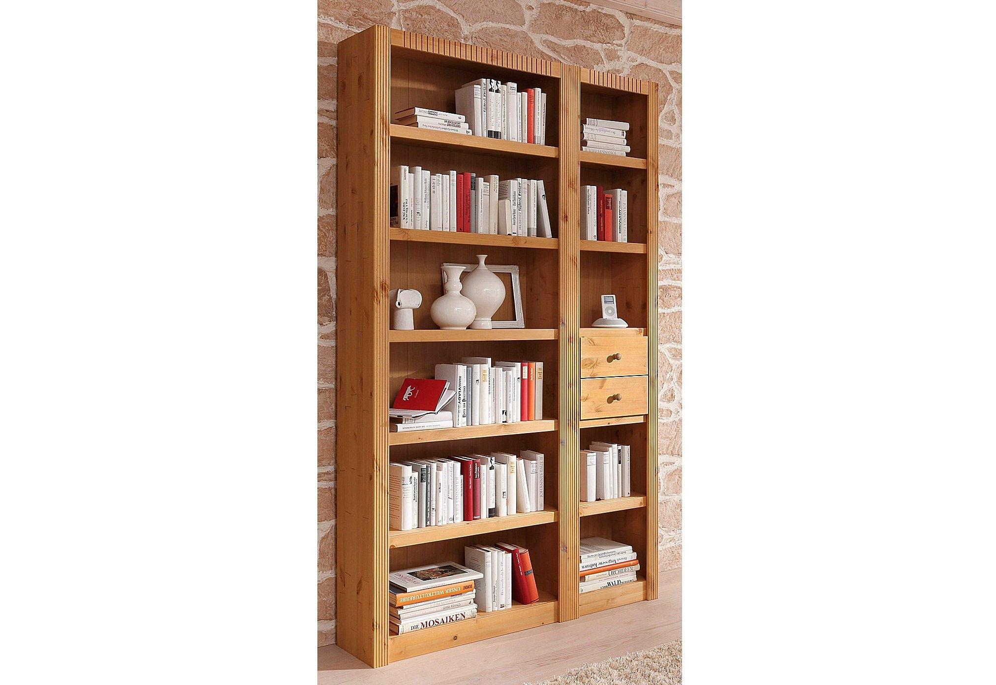 Boekenkast aanbouwelement breedte 45 5 cm. er zitten geen lades in