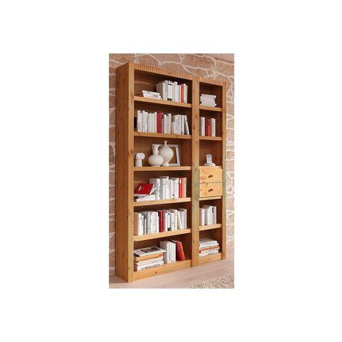 Boekenwand, met ladeset, 3-delig
