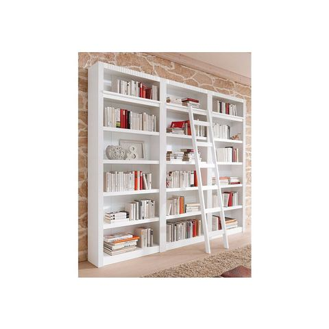 Kasten  vitrinekasten Boekenkast 3-delig 602384