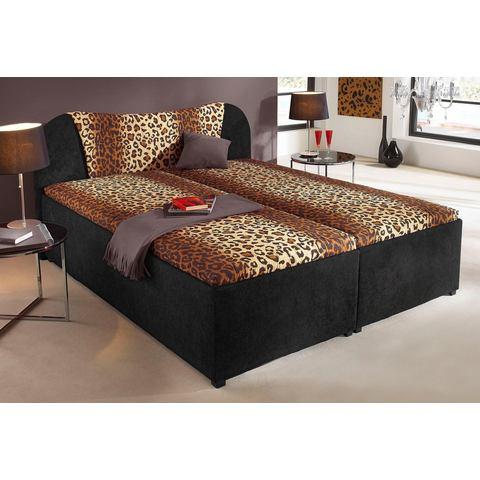 Bed zelfmontage zwart Breckle 775812