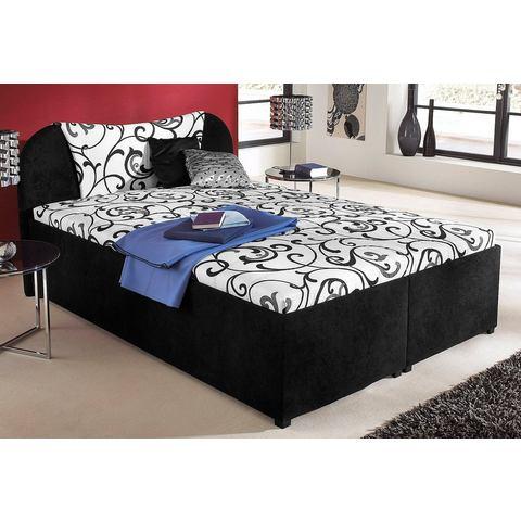 Bed zelfmontage zwart Breckle 781337