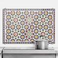 wall-art keukenwand spatscherm orintaalse wandtegels (1-delig) wit
